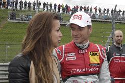 Jessica Hinterseer, Girlfriend of Timo Scheider with Timo Scheider, Audi Sport Team ABT Sportsline Audi A5 DTM