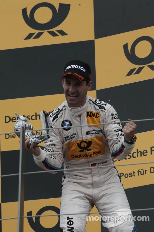 terceiro colocado Timo Glock, BMW Team MTEK BMW M3 DTM