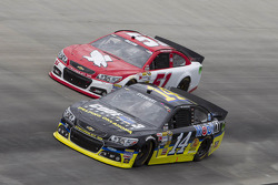 Tony Stewart and Regan Smith