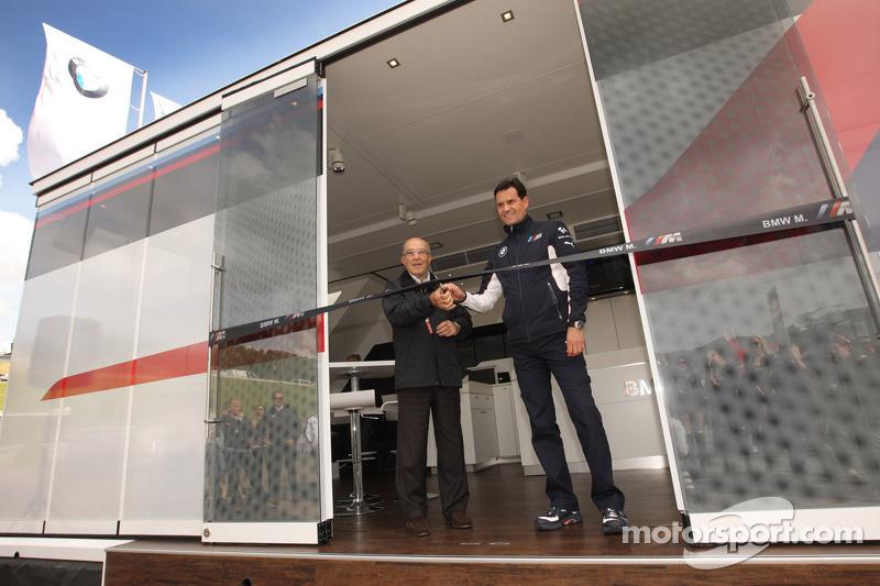 BMW revela nuevo motorhom para la serie de MotoGP
