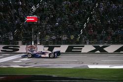 Helio Castroneves, Team Penske Chevrolet takes the win