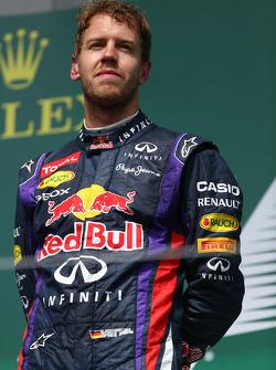 1st place Sebastian Vettel, Red Bull Racing
