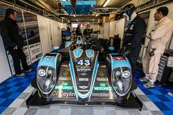 #43 Morand Racing Morgan LMP2-Judd: Natacha Gachnang, Franck Mailleux, Olivier Lombard