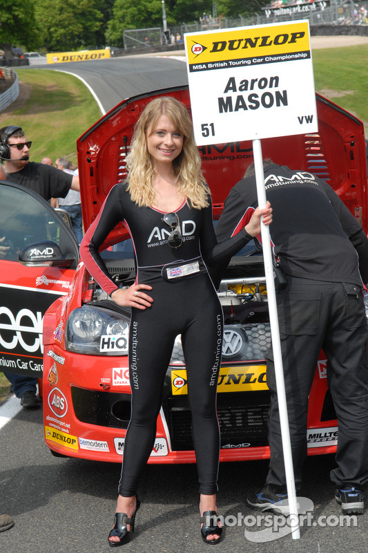 AMD Tuning.com Grid Girl