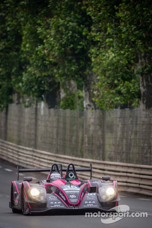 #35 OAK Racing Morgan LMP2-Nissan: Bertrand Baguette, Ricardo Gonzalez, Martin Plowman