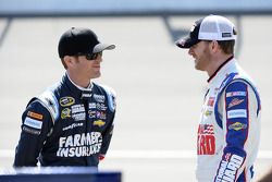 Kasey Kahne and Dale Earnhardt Jr., Hendrick Motorsports Chevrolet