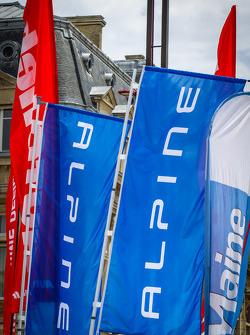Alpine vlaggen