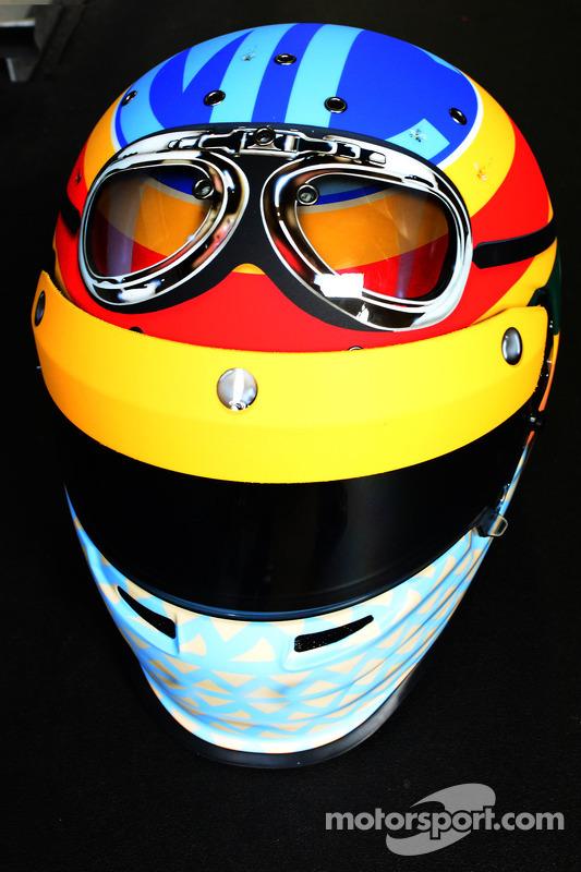 Un diseño de casco especial para Mike Conway