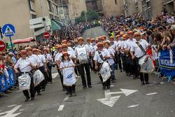 Marching band at Grande Parade des Pilotes