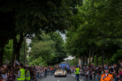Fans pack the streets of Le Mans for the Grande Parade des Pilotes