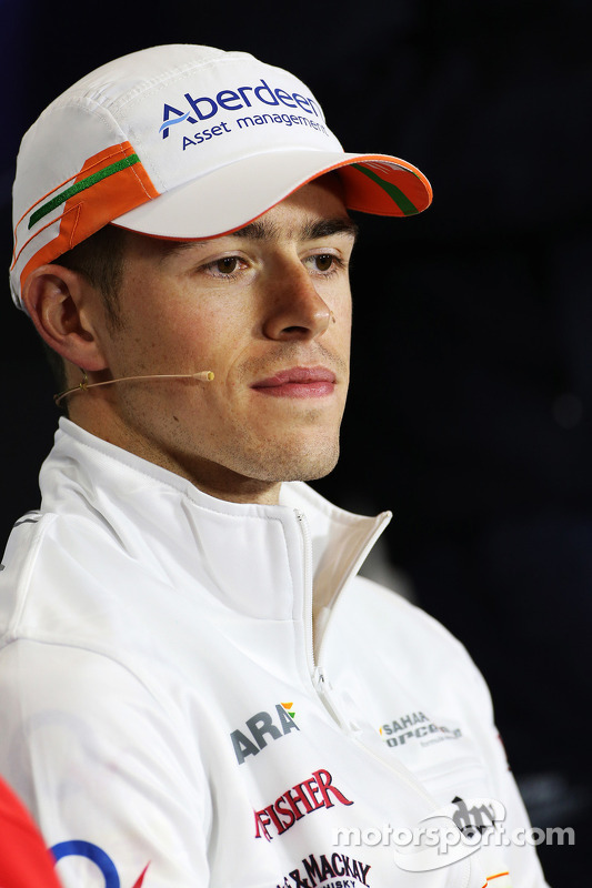 Paul di Resta, Sahara Force India F1 na coletiva da FIA.