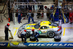 Pit stop for #93 SRT Motorsports Viper SRT GTS-R: Jonathan Bomarito, Tommy Kendall, Kuno Wittmer