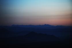 visão de Pikes Peak