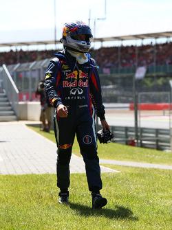 Sebastian Vettel, Red Bull Racing retires from the race