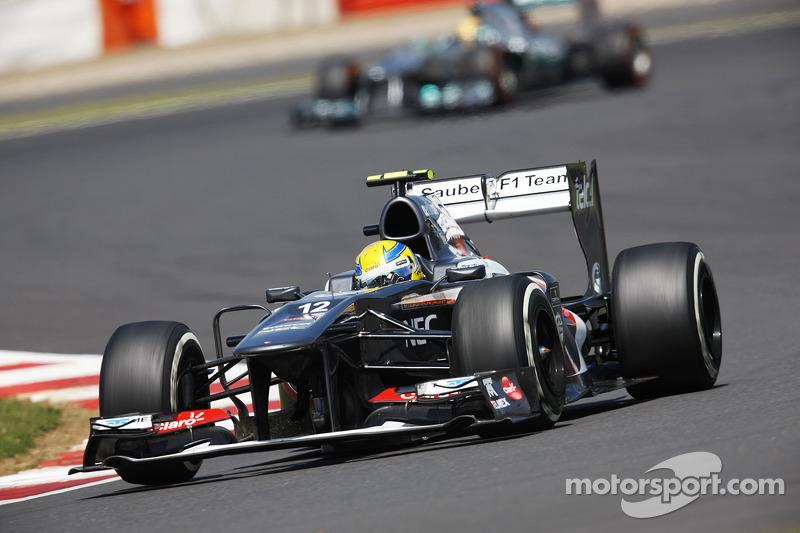 Esteban Gutierrez Sauber C32