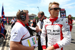 Max Chilton Marussia F1 Team on the grid
