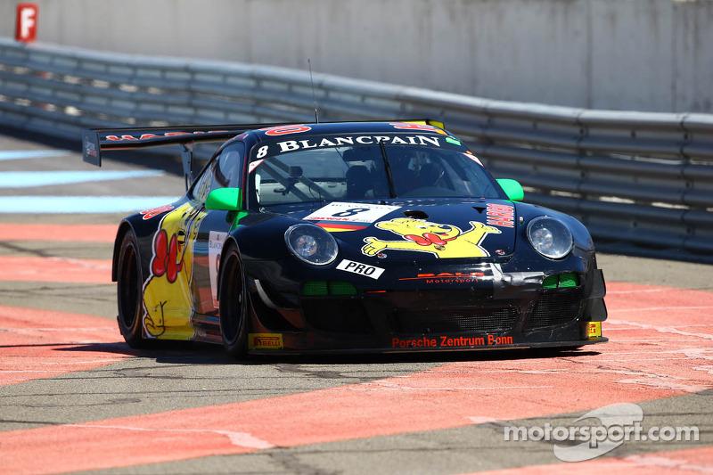 #8 Haribo Racing Team: Hans Guido Riegel, Mike Stursberg, Richard Westbrook, Porsche 997 GT3 R