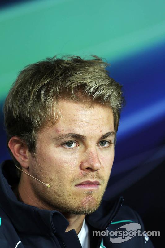 Nico Rosberg, Mercedes AMG F1 na coletiva da FIA