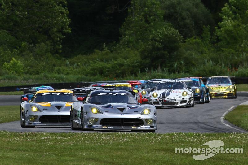 #93 SRT Motorsports SRT Viper GTSR: Jonathan Bomarito, Kuno Wittmer