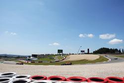 Sebastian Vettel, Red Bull Racing RB9 et Mark Webber, Red Bull Racing RB9