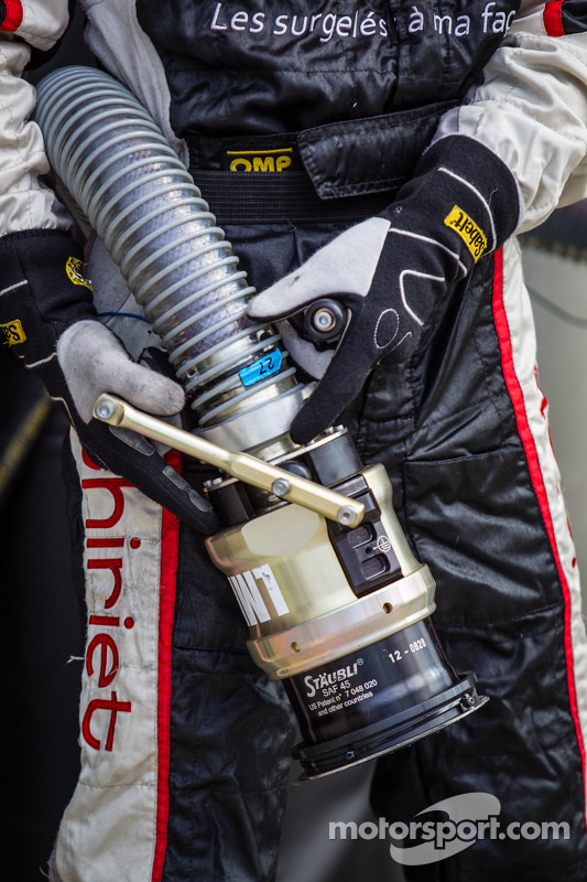Thiriet by TDS Racing reabastecimento