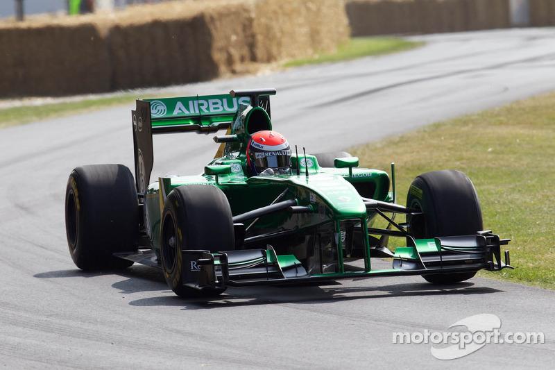 Alexander Rossi, Caterham Renault CT03