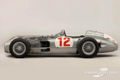 Juan Manuel Fangio Mercedes Benz vendido en una subasta
