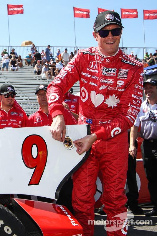 Scott Dixon, Target Chip Ganassi Racing Honda Target Chip Ganassi Racing comemora