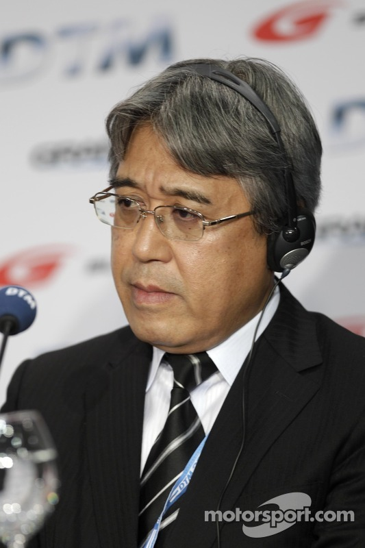 Coletiva DTM, Grand AM e Super GT, Masaaki Bandoh, Chairman, GTA