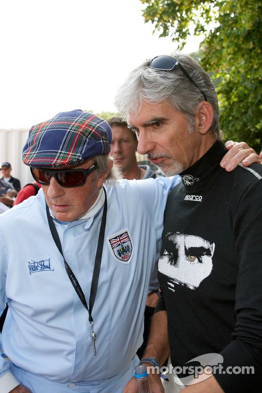Sir Jackie Stewart, Damon Hill