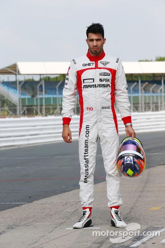 Tio Ellinas, Marussia F1 Team piloto de testes