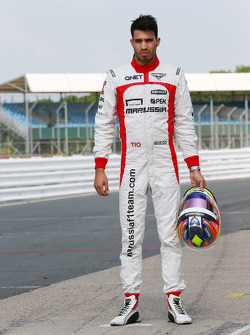Tio Ellinas, Marussia F1 Team Test Pilotu