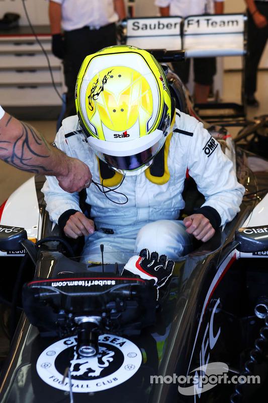 Kimiya Sato, Sauber C32 Piloto te Teste