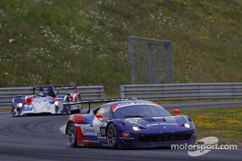 #69 SMP Racing Ferrari F458 Italia GT3: Fabio Babini, Viktor Shaitar, Kirill Ladygin