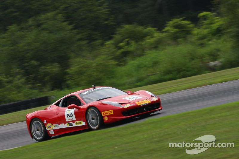 #69 Ferrari of Houston Ferrari 458: Michael Macs