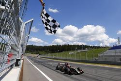 Marco Sorensen takes the win