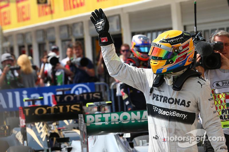 30-й поул: Льюис Хэмилтон, Гран При Венгрии, 2013 год