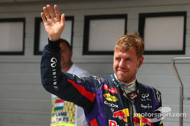 2e plaats for Sebastian Vettel, Red Bull Racing RB9