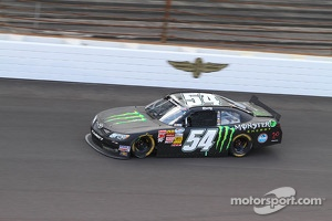 Kyle Busch on his way to the Nationwide victory at the Brickyard
