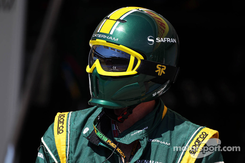Caterham F1 Team mechanic