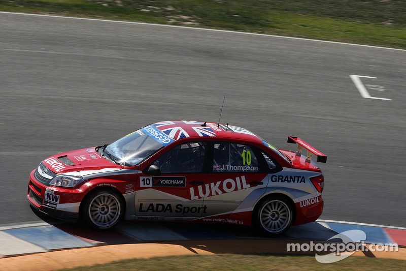 James Thompson, Lada Granta, LADA Sport Lukoil