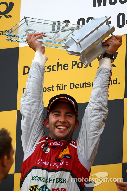 Vencedor Mike Rockenfeller, Audi Sport Team Phoenix Racing Audi A5 DTM