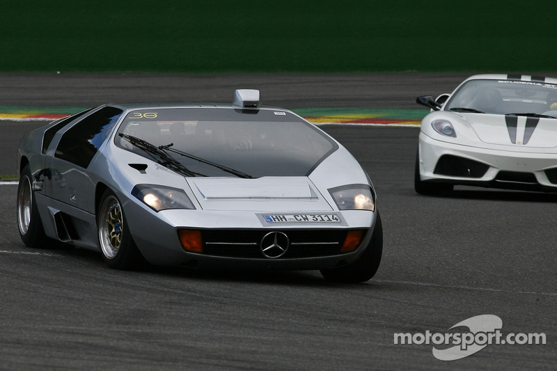 Benz Drift Car >> Isdera Imperator (Mercedes-Benz CW311 concept car) at Modena Trackdays