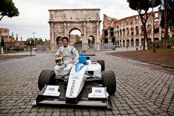 Testfahrer Lucas di Grassi, Formel E Rom, Präsentation
