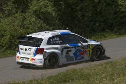 Mattias Ekström in the Volkswagen Polo-R WRC