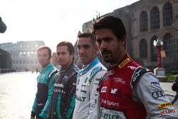 Лукас ді Грассі, Audi Sport ABT Schaeffler, Себстьян Буемі, Renault e.Dams, Нельсон Піке-мол., Jaguar Racing, Лука Філіппі, NIO Formula E Team
