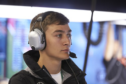 GP3 racer and Mercedes Junior development driver George Russell