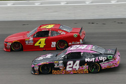 Dylan Lupton, JGL Racing Toyota and Ross Chastain, JD Motorsports Chevrolet
