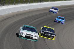 Kasey Kahne, Hendrick Motorsports Chevrolet y Paul Menard, Richard Childress Racing Chevrolet
