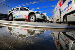 The car of Fabio Andolfi, Simone Scattolin, ACI Team Italia Hyundai R20 i5